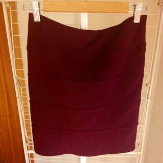 Topshop bandage skirt