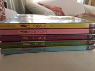 THE CLIQUE SUMMER COLLECTION BOOKS