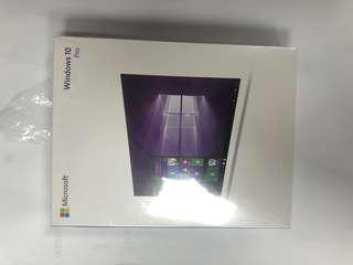 Microsoft Windows 10 pro 盒裝