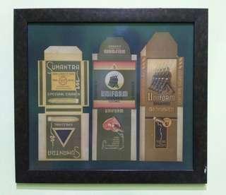 Etiket rokok uniform dan sumantar sigaren