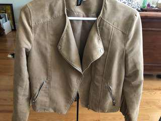 H&M Suede Motto Jacket