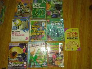 Grade 5 books take all for 400