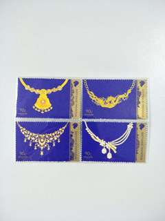 Singapore Stamps Wedding Jewellery