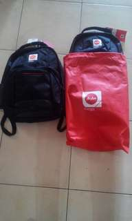 Air Asia Backpacks!