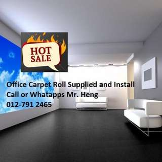 Batu Uban Office Carpet Roll Call Mr. Heng 012-7912465