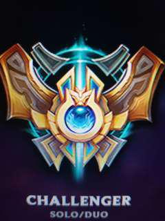 Challenger SOLO/DUO League Of Legends Account