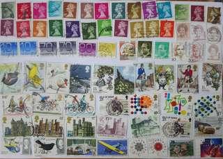 外地已蓋銷郵票