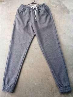 Jogger pants [dark gray]