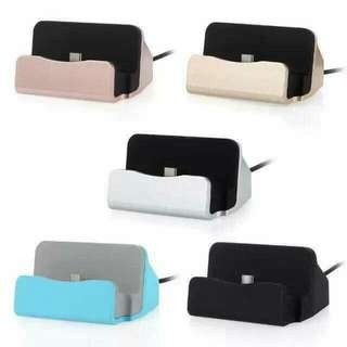 Phone charger stand for Iphones and Android
