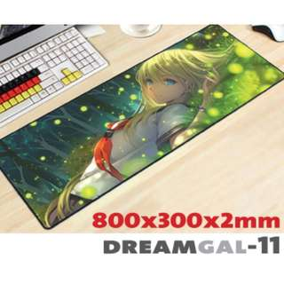 DREAMGAL-11 8030 Extra Large Mousepad Anti-Slip Gaming Office Desktop Coffee Dining Tabletop Decorative Mat