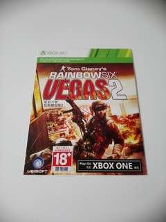 Xbox One Rainbowsix Vegas 2
