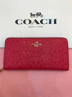 Original coach women walk purse pouch coin bag