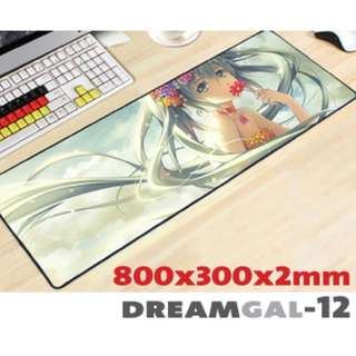 DREAMGAL-12 8030 Extra Large Mousepad Anti-Slip Gaming Office Desktop Coffee Dining Tabletop Decorative Mat