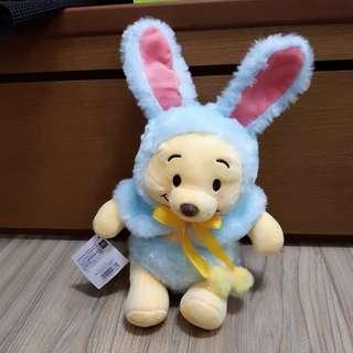 復活節兔裝小熊維尼-藍