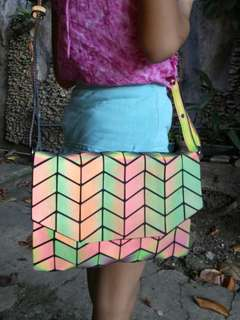 Baobao Inspired CLUTCH with Sling - Pattern 2