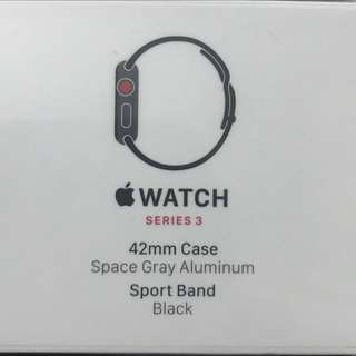 Apple Watch  S3 LTE  42mm (GPS+Cellular)