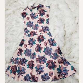 Aritzia Talula Palmetto Floral Dress Xs