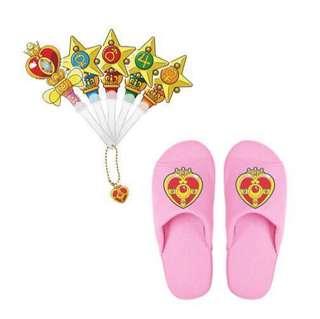 最後一套現貨*Sailor Moon 美少女戰士扇及拖鞋套裝