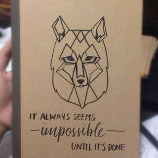 [PO] A5 Kraft Muji Notebook