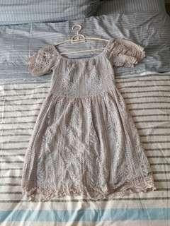 Doublewoot Off-Shoulder Dress (Size M)