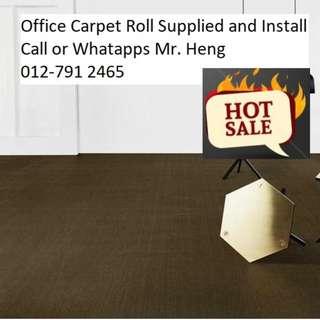 Bertam Office Carpet Roll Call Mr. Heng 012-7912465