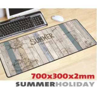 SUMMER HOLIDAY 7030 Extra Large Mousepad Anti-Slip Gaming Office Desktop Coffee Dining Tabletop Decorative Mat