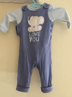 Jumpsuit (Elephant) by Mothercare