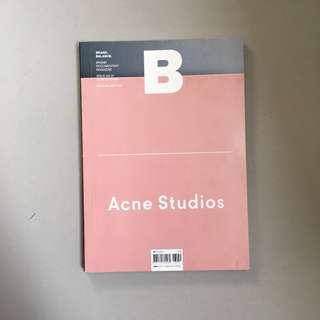 B MAGAZINE Acne Studios
