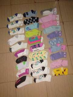 Factory pull out socks