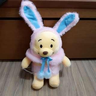 復活節兔裝小熊維尼-粉