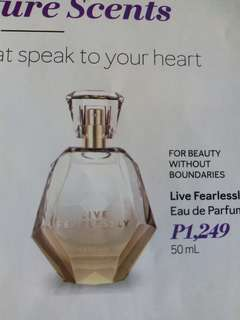 Live Fearlessly Perfume