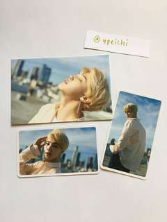 BTS Dispatch Magazine Official Jimin Postcard and Photocard set