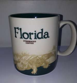 Starbucks Florida Icon Mug (with SKU)