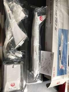 JAL B787-800 1:200 model