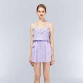Aritzia Talula Ulla Dress XXS PLe Purple Lilac