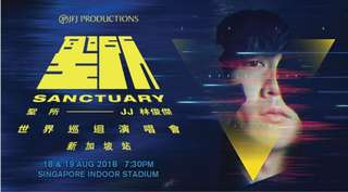 Looking for JJ Lin concert 3x CAT4 tickets