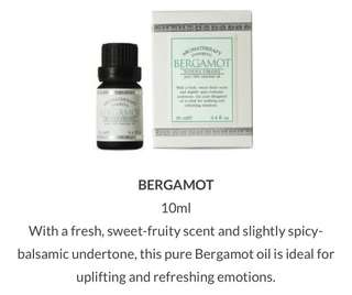 DONNA CHANG Bergamot pure 100% essential oil BRAND NEW