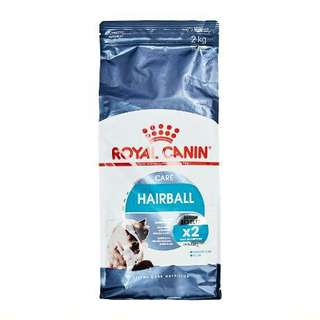 Royal canin ageing 12+ and hairball care