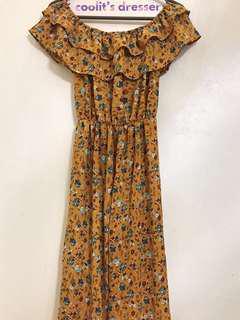 NEW! One-piece Floral Jumpsuit