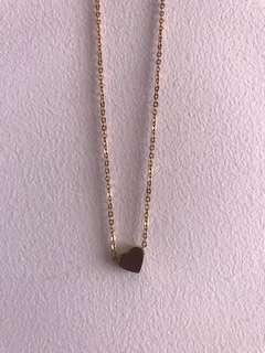 Mini Heart Gold Necklace