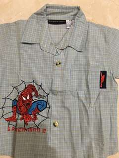 Kemeja Spiderman