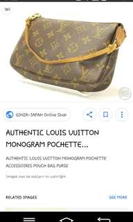 LV Pouch AUTHENTIC REPRICED,,