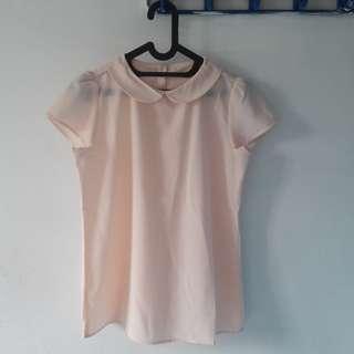 blouse the executive warna khaki