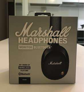 Marshall Monitor Bluetooth Wireless Over-Ear Headphones