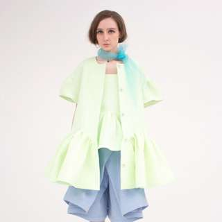 慈善大特價!Oh My God Light Green Sling Top & Jacket