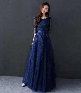 BNWT Evening Gown Navy Blue