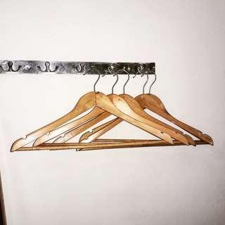 Gantungan kayu 5pcs