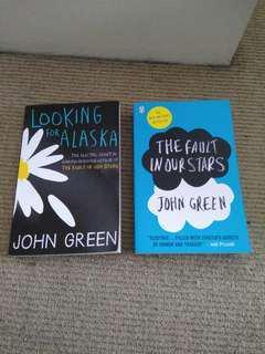 2x John Green Books