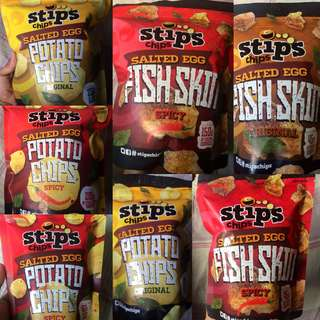 Stip's Chips Potato Chips and Fish Skin