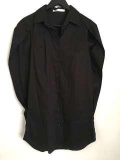 Legacy Black Cape Shirt